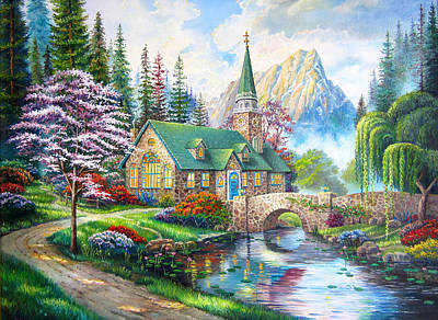 Karen Showell Painting - Time To Come Home by Karen Showell