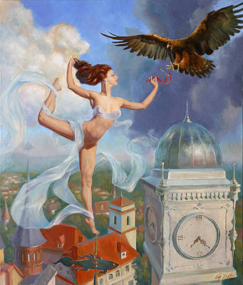 Time To Fly Print by Vadim Galkin