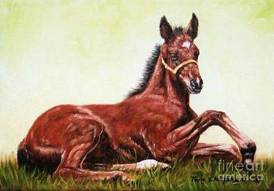 Kentucky Painting - Time To Get Up by Tom Chapman