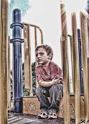 Photograph - Time To Go Home by Kristie  Bonnewell