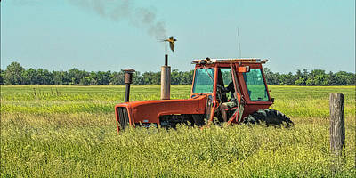 Photograph - Time To Mow by Don Durfee