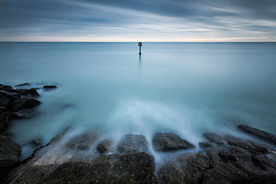 Photograph - Time To Reflect...7 Minute Exposure On Eastbourne Seafront by Will Gudgeon