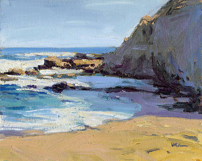 Painting - Time To Relax / Laguna Beach by Konnie Kim