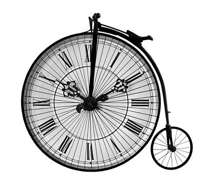 Photograph - Time To Ride Penny Farthing by Gill Billington