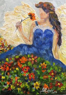 Painting - Time To Stop And Smell The Flowers by Sandra Cutrer