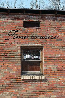 Photograph - Time To Wine by Ellen Barron O'Reilly