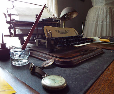 Photograph - Time To Write by Caryl J Bohn