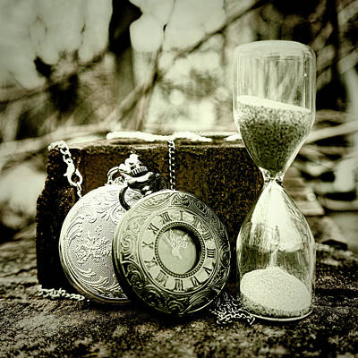 Time Tools Art Print