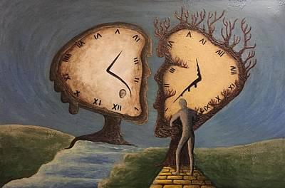 Time Travel 2016 Art Print by Steve  Hester