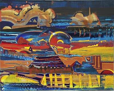 Painting - Time Travel by Richard Van Vliet
