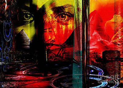 Travelling Art Digital Art - Time Traveller by Callan Percy