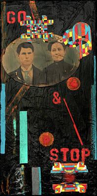 Time Travellers Original by Joan Raspo