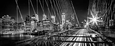 Nyc Photograph - Time Warp City by Az Jackson