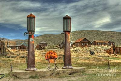 Rural Decay Photograph - Time Warp In Bodie by Benanne Stiens