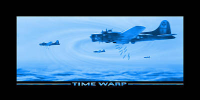 B-17 Photograph - Time Warp by Mike McGlothlen