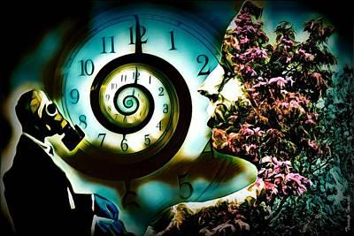Digital Art - Toxic Time by Wesley Nesbitt