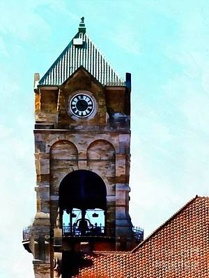 Art Print featuring the photograph Time Will Tell - Scranton by Janine Riley