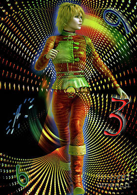 Digital Art - Time Zone by Shadowlea Is