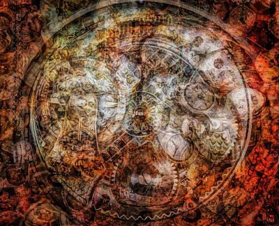 Painting - Timekeeper by Sandy MacGowan