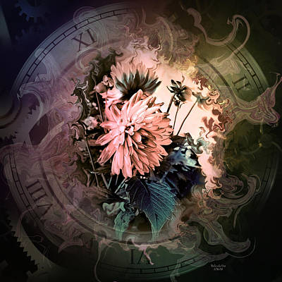 Digital Art - Timeless Dahlia by Artful Oasis