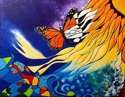 Girasol Painting - Timeless by Duka Lourdes Aguirre