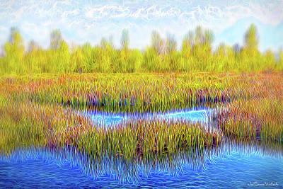 Digital Art - Timeless Lake Day by Joel Bruce Wallach
