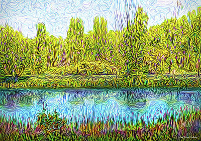 Digital Art - Timeless Lake Moment by Joel Bruce Wallach