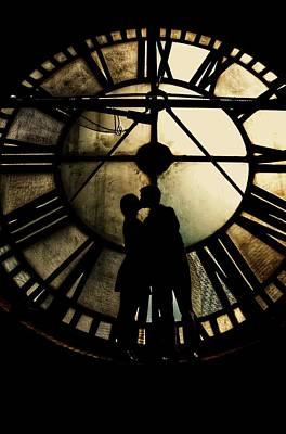 Steampunk Photograph - Timeless Love - Golden Brown by Marianna Mills