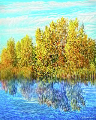 Digital Art - Timeless Peace Reflections by Joel Bruce Wallach