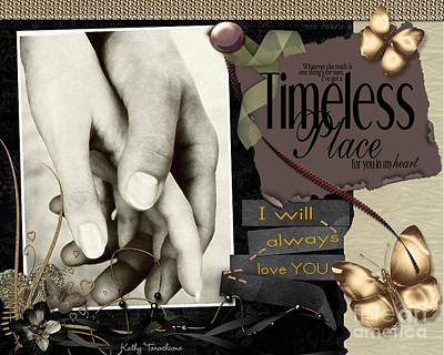 Digital Art - Timeless Place by Kathy Tarochione