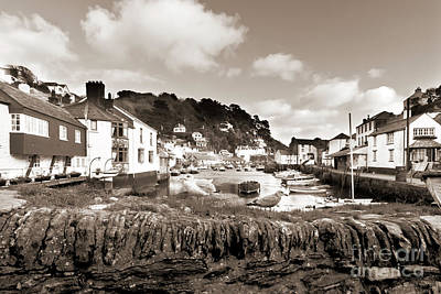 Photograph - Timeless Polperro by Terri Waters