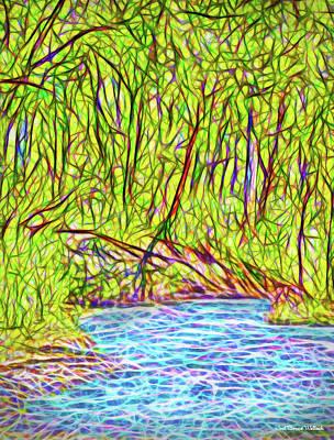 Digital Art - Timeless River by Joel Bruce Wallach
