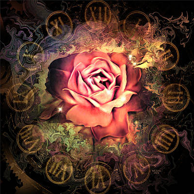 Digital Art - Timeless Rose by Artful Oasis