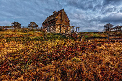 Photograph - Timeless Rustic Barn  by Jaquita Watters