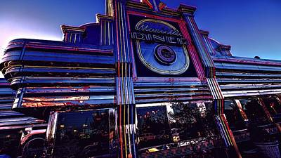 Timeless Tradition In Neon Lights Art Print by Dennis Baswell