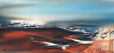 Digital Art - Silent Host by Yul Olaivar