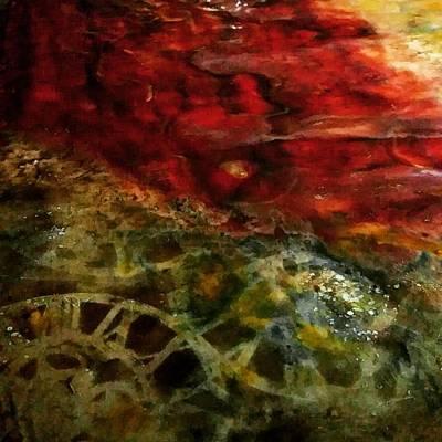 Painting - Timepiece by Eliaichi Kimaro