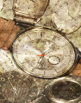 Photograph - Timepieces by Michele A Loftus