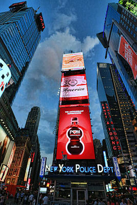 Photograph - Times Square # 1 by Allen Beatty