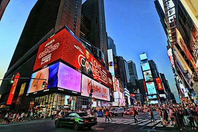 Photograph - Times Square # 3 by Allen Beatty