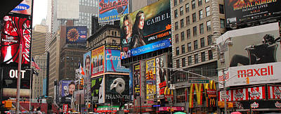 Times Square 4 Art Print by Andrew Fare