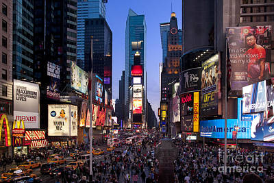 Photograph - Times Square by Brian Jannsen