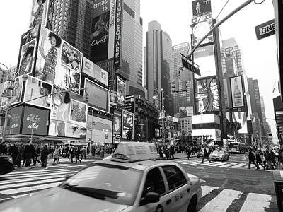 Nyc Photograph - Times Square by Jessica Stiles