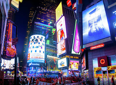Broadway Photograph - Times Square by Mark Andrew Thomas