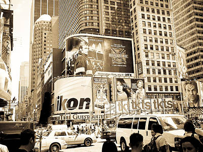 Times Square New York Art Print