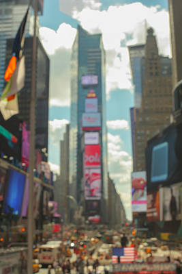 Photograph - Times Square, NYC -4 by Keith Thomson