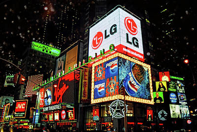 Times Square - Old New York City Art Print