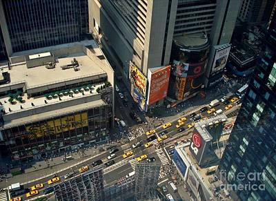 Olympic Sports - times Squre Aerial View by Douglas Sacha