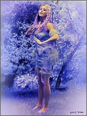 Photograph - Timid Fairy by Jon Volden