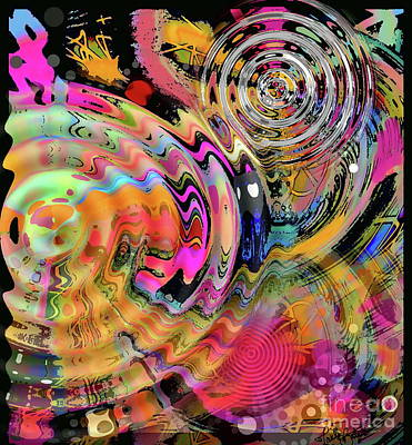 Digital Art - Timing Is Everything by Expressionistart studio Priscilla Batzell